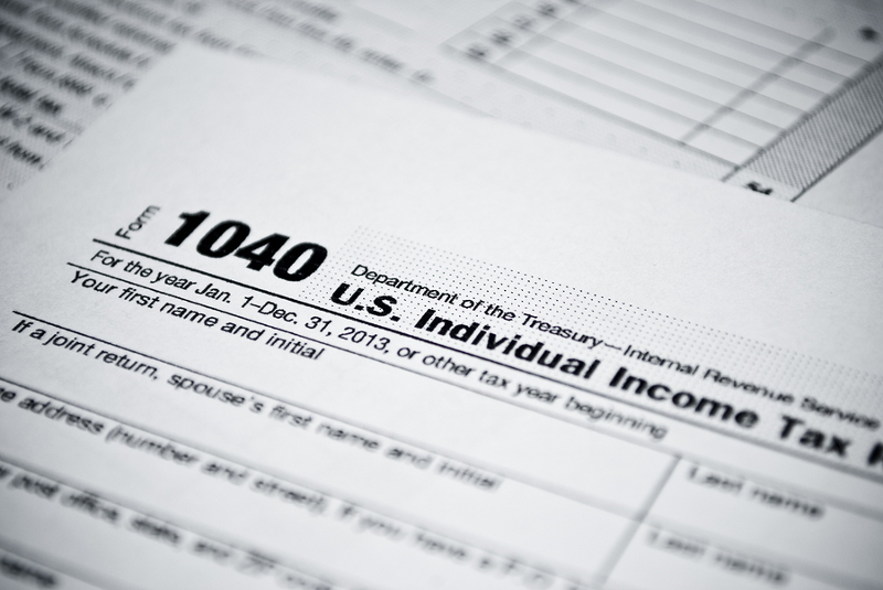 income tax form 1040 for 2013
